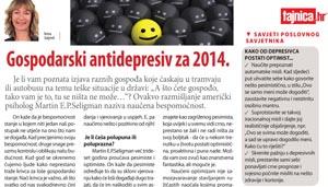 Gospodarski antidepresiv mala